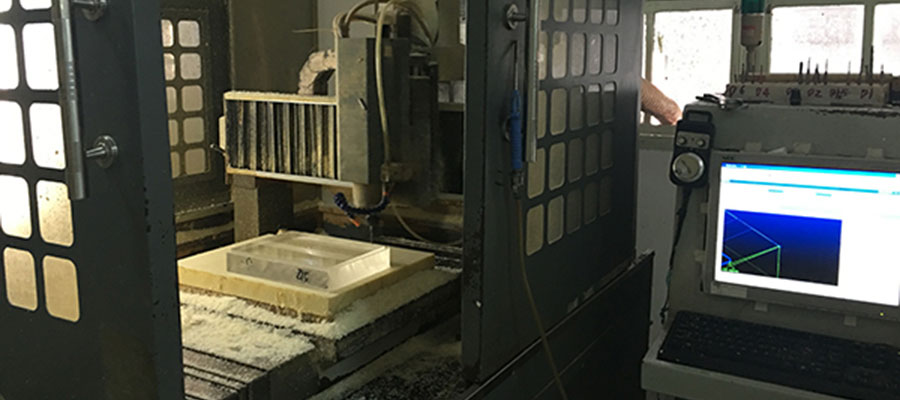 CNC machining route
