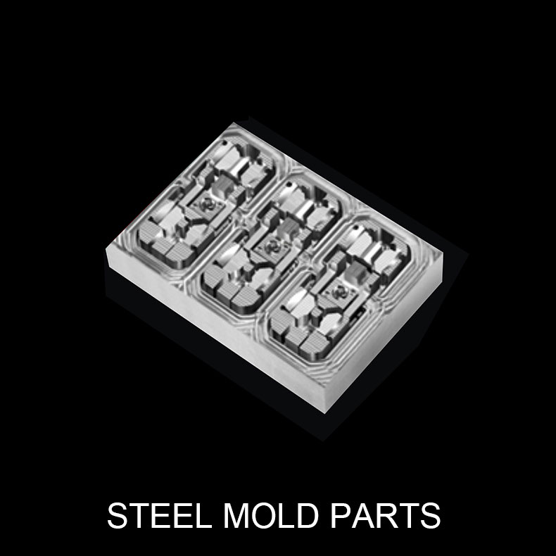 steel mold parts