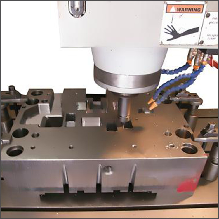 machining stamping mould