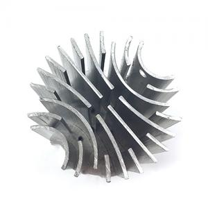cnc machining large led heatsink
