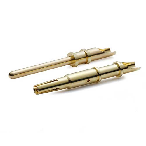 cnc machining aviation plug terminal