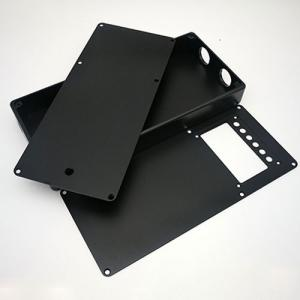 alloy aluminium black oxidation cnc milling case